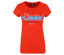 "T-Shirt ""Sofia"", Baumwolle, Logo-Print"