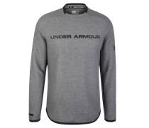 Sweatshirt, Marken-Schriftzug, meliert