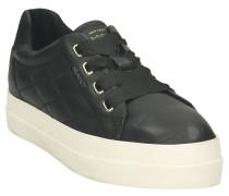 """Sneaker """"Amanda"""", Leder, Ziernähte, Plateau"""