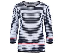 Pullover, Strick, Streifen, Rundhalsausschnitt