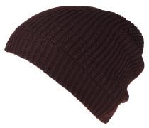Mütze, Strick, meliert, Glitzer-Details
