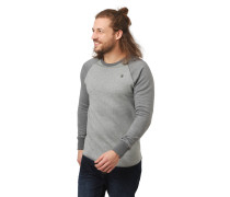 Sweatshirt, Raglanärmel, zweifarbig, Rippbündchen