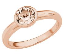 Ring 2018666, mit Swarovski Kristall, rosé