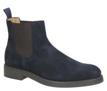 """Chelsea Boots """"Oscar"""", Veloursleder, Logo-Branding"""