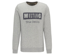 Sweatshirt, Brustprint