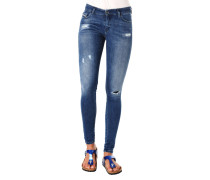 """Jeans """"Slandy"""", Skinny Fit, Destroyed-Design"""
