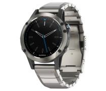 Smartwatch Quatix 5, Streaming Schiffsdaten, Wassersport