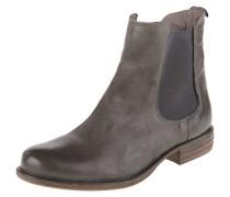 Chelsea-Boots, Blockabsatz, Leder