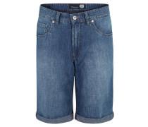 """Jeans-Shorts """"John"""", Regular Fit, Leinen-Anteil"""