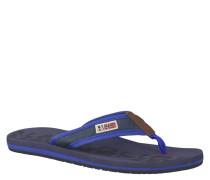 Zehensandalette 'Toledo', Decksohle mit Fußbett, Baumwolle