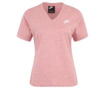 """T-Shirt """"Futura"""", V-Ausschnitt, meliert"""