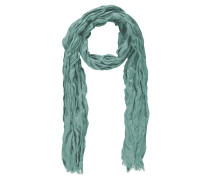 Schal, Knitter-Optik, Fransen, einfarbig