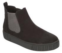 Sneaker, Chelsea-Optik, Velours-Optik, uni
