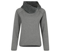 Sweatshirt, Regular Fit, Kapuze, Raglan-Ärmel, innen angeraut