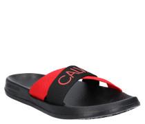 Slides, Logoprint, zweifarbig, vorgeformtes Fußbett