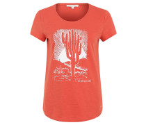 "T-Shirt ""Cactus"", Baumwolle, Print"