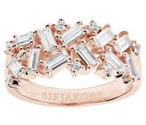 Antella Ring Sterling Silber 925 SJ-R0463-CZ(RG)/52