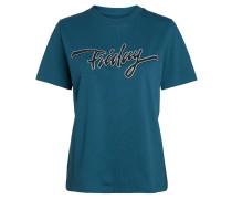 T-Shirt, Print, Kurzarm, Rundhalsausschnitt