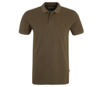 Poloshirt, Slim Fit, Piqué, unifarben