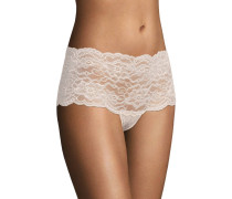 "Panty ""Lulu"", florale Spitze, transparent"