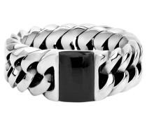 Ring, Edelstein, Silber, handgefertigt