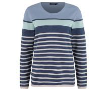 Pullover, Strick, Baumwoll-Anteil, gestreift