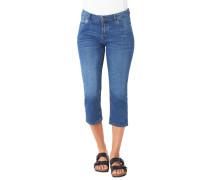 """Capri-Jeans """"Shape Capri"""", Slim Fit, Knopfleiste"""