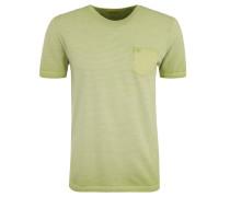 T-Shirt, Baumwolle, gestreift, Brusttasche