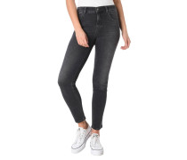 Jeans, Skinny Fit, Waschung, Stretch