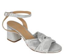 """Sandaletten """"Romy"""", Leder, Glitzer, Riemchen"""