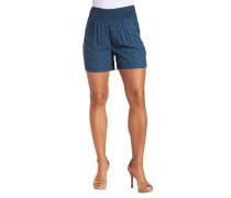 Shorts, Gummibund, Rauten-Muster