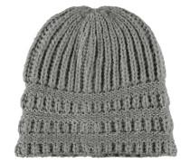 Mütze, Strick, schimmernd