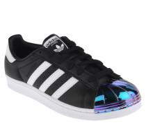 "Sneaker ""Superstar"", glänzende Kappe, Leder"