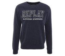 Sweatshirt, Baumwolle, Logo-Stickerei