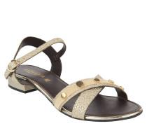 Sandalen, Glitzer, Nieten