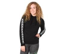 Sweatshirt, Kapuze, Galon-Streifen