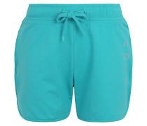 Shorts, glitzernder Logo-Print, unifarben
