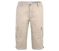 Cargo-Shorts, Capri-Länge, Stretch-Anteil