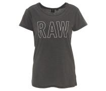 T-Shirt, Front-Print, Baumwoll-Mix
