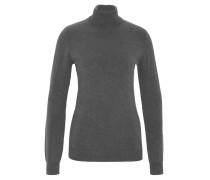 Pullover, Rollkragen, uni, Feinstrick