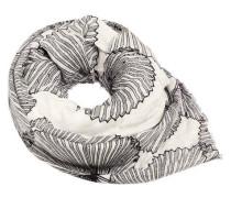 Schal, Blätterprint