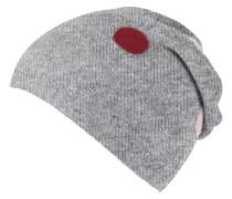 Mütze, Punkte-Design, mit Wolle
