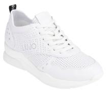 "XL-Sneaker ""KARLIE 14"", Leder, Lochmuster"