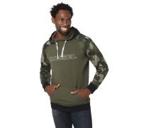 Hoodie, Camouflage, Logo-Print