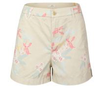 Shorts, Blumen-Print, Baumwoll-Stretch