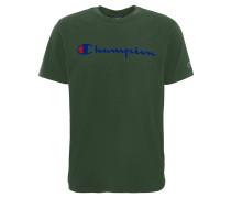 T-Shirt, Marken-Print, reine Baumwolle