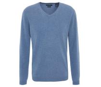 Pullover, reiner Cashmere, V-Ausschnitt, Slim Fit, 260046