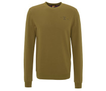 Sweatshirt, Rundhalsausschnitt, dezenter Brust-Print
