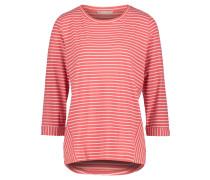 Casual-Shirt, Rundhals, gestreift