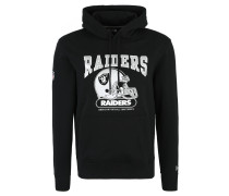 Oakland Raiders Hoodie, Kängurutasche